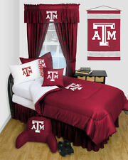 TEXAS A&M AGGIES LOCKER ROOM COMFORTER AND SHEET SET COMBO - 003616-Combo