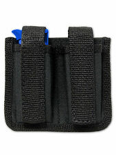 NEW Barsony Dbl Magazine Pouch for Makarov FEG Mini/Pocket 22 25 380 Pistols