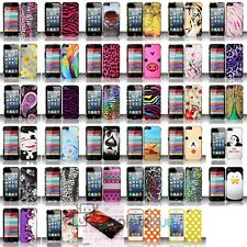 For iPhone 5 5S 5th Hard Cover Snap-On Case Skin New Design Multi-Colors