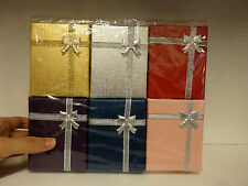 12 jewellery gift boxes wholesale necklace earring ring joblot uk