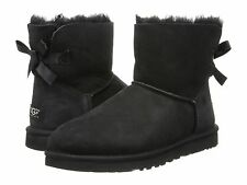 Women's Shoes UGG Australia Mini Bailey Bow Boots 1005062 Black *New*
