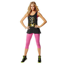 ZUMBA Love me Loose Tops Tanks - HARD TO FIND!!  NEW