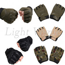 Men Motorcycle Tactical Half Finger Ansell Gloves Special Forces Riding Game 43