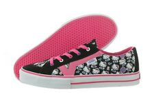 VANS TORY HELLO KITTY VN-0F7773E PINK BLACK CASUAL SHOES KIDS YOUTH