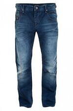 Neu JACK & JONES Herren Boxy Powel Herrenhose Hose Denim Jeans Loose Fit Top