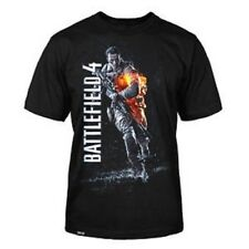 Battlefield 4 Video Game Black Color Licensed T-Shirt S-2XL