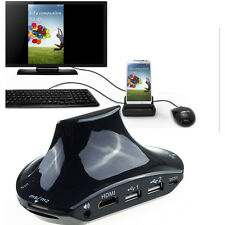 OTG+MHL to HDMI Multi-function Dock Charger for Samsung Galaxy S3 S4 S5 Note 2 3