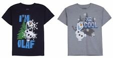 NEW NWT Boys Disney Frozen Olaf T Shirt Sizes S M L XL 6-20 You Choose!