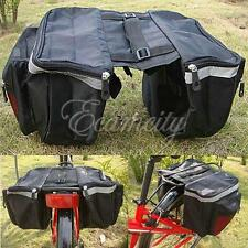 18L Bicycle Pannier Bag  front Rear Seat Tail Cycling Bike Outdoor Waterproof