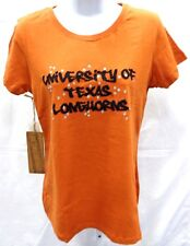 Texas Longhorns Ladies Short Sleeve T-Shirt Campus Couture Burnt Orange