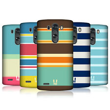 HEAD CASE DESIGNS STRIPES COLLECTION 1 CASE COVER FOR LG G3 D855
