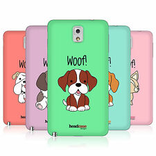 HEAD CASE HAPPY PUPPIES BATTERY BACK COVER FOR SAMSUNG GALAXY NOTE 3 N9005