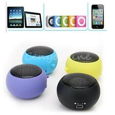 Mini 3.5mm Music Player Portable Stereo Hamburger Speaker for PC Lactop MP3
