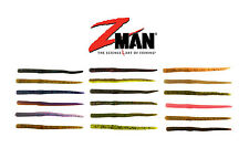 """Z MAN FINESSE WORMZ 4"""" 10 PACK select colors"""