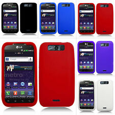 For LG Connect Viper 4G MS840 LS840 Metro PCS Color Soft Silicone Gel Case Cover