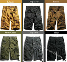 Mens Dazzle 3 Colors Camo Sports Pants Casual Military Cargo Beach Shorts