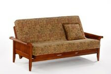 Futon Frame- Solid Wood VENICE Futon Sofa Bed Frame- FULL or QUEEN size