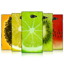HEAD CASE DESIGNS FRUITYLICIOUS CASE COVER FOR SONY XPERIA M2