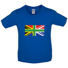 South African Union Jack - Kids / Childrens T-Shirt - UK Flag - South Africa
