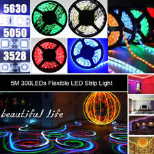 5M 300 LEDs SMD 3528 5050 5630 7020 Flexible LED Strip Light for Xmas decoration