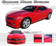 Hood Spears Cowl Spikes Stripes Decals Vinyl Graphic SS RS LS 2010-2015 Camaro