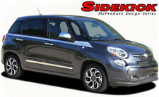 2014 Fiat 500L 4-Door Upper Panel Body Strobe Vinyl Stripes 3M Decals Graphics