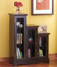 Small Accent Decor Entry Hall Hallway Cabinet End Table Book Shelf Case Storage