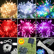 20-400 LED Battery/Solar/Electric String Fairy Lights Indoor/Outdoor Xmas Party
