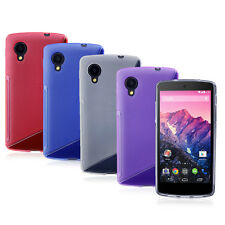 For LG Google Nexus 5 D820 D821 S-line Wave Soft  Protector TPU Case Cover Skin