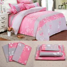 Single/Twin Queen/Double King Duvet Cover&Pillow Case&Quilt Cover Bedding Set