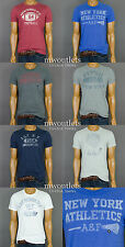 "New Abercrombie & Fitch Mens ""Woodsfall Trail "" Grahpic T-Shirt Muscle Fit"