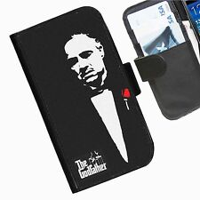 The Godfather Leather wallet mobile phone Skin case Personalised I Phone