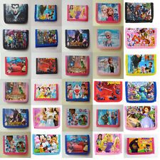 1pcs Hot Disney Cartoon Fantasy frozen Purses Wallets Children Gifts Multi Color