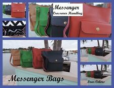 Messenger Hand Bags in Four Winter Edition Colors