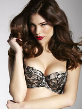 Ann Summers Womens Hollywood Boost Lace Balconette Bra Push Up Padded Underwear