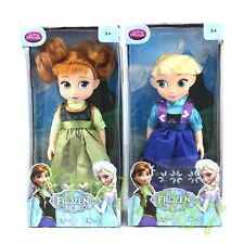 New Frozen Cute Baby Elsa&Anna Figure Doll Toddler Animator Toy 12'' Kid's Gifts