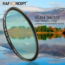 Super Slim MCUV HD Lens Protector Filter For Canon Nikon 49 52 55 58 67 72 77mm
