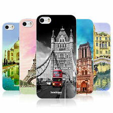 HEAD CASE BEST OF PLACES SET 3 TPU GEL BACK CASE COVER FOR APPLE iPHONE 5S