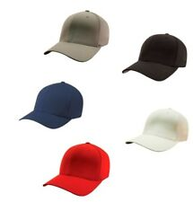 Flexfit Unisex Fitted Baseball Cap Printed Casual Outdoor Headwear Hat One Size
