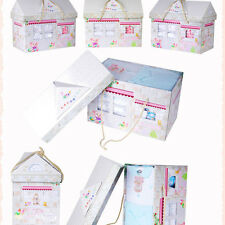 Infant Baby Clothing Set 8PCS/Small House Baby Clothes Gift Box 100% Cotton  SH
