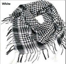 CHIC Arab Shemagh Keffiyeh Military Tactical Palestine Scarf Shawl Wrap US HG