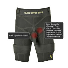 Gilmore Support Shorts Groin Adductor Hamstring Injury Base Layer Core Stability