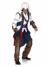 Adult Men's Assassin's Creed Connor Video Game Connor Halloween Costume Outfit