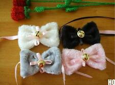 HOUS 1 Pair Fashion Cosplay Party Anime Costume Cat Fox Ears Long Fur Hair Clip