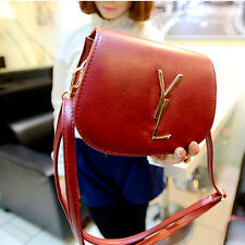 Charming Women Big Word Buckle Fresh Candy-colored Shoulder Handbags Packet bags