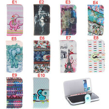 Deluxe E Owls Tribal Tower Wallet Leather Flip Case For Samsung Galaxy S5 Mini