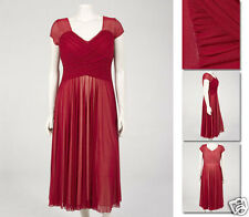 NEW Zaftique ENCHANTED MESH Dress GARNET 0Z 1Z 2Z 3Z 5Z 6Z / 14 L 1X 2X 3X 5X 6X