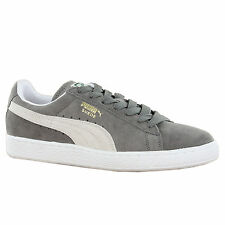 Puma Classic Suede Steeple Grey Mens Trainers