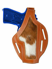 New Barsony Tan Leather Custom Gun Holster for Steyr Walther Full Size 9mm 40 45
