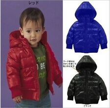 Free Shipping Autumn New 2014 Kids Boys Cotton  Hooded boys cotton-padded jacket